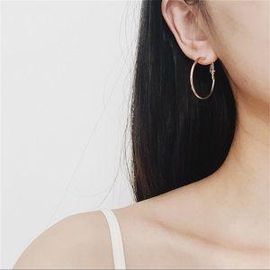 New🌸Gold 3cm Hoop Earrings